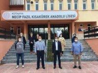 Milletvekili İshak Gazel, Necip Fazıl Kısakürek Anadolu Lisesi'ni ziyaret etti