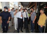 Vali Su, maske, mesafe ve hijyen konusunda vatandaşları uyardı