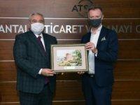 ATSO Başkanı Çetin'den Finli yatırımcılara Antalya daveti