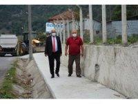 Kdz. Ereğli Belediyesi Bölücek'te çalışmalarını sürdürüyor