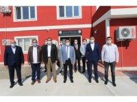 Vali Mustafa Masatlı iki OSB'de incelemelerde bulundu