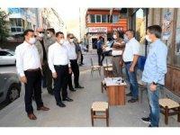 Amasya'da Kovid-19 denetimi