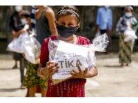 TİKA'dan Arakan'daki mülteci kamplarına hijyen malzemesi yardımı