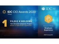Yıldız Holding'in dijital projelerine IDC CIO'dan iki ödül