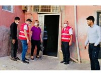 Siirt Göç İdaresinden hayatını kaybeden Suriyeli Muhammed'in ailesine ziyaret