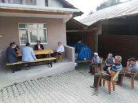 Kaymakam köy ziyaretlerini sürdürüyor