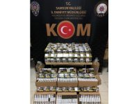 Samsun'da tütün evine kaçak tütün operasyonu: 3 gözaltı