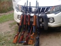 Karabük'te kaçak avlanan 5 kişi yakalandı