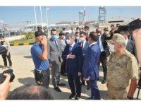 İçişleri Bakan Yardımcısı İnce, Yüksekova'da incelemelerde bulundu