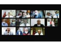 Bakan Koca, 11 ilin Sağlık Müdürü ile görüştü