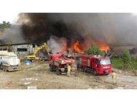 Tokat'ta AVM yangını kontrol altına alındı, zarar büyük