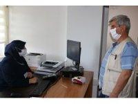 Erzincan'da ehliyet ve kimlik kartı birleştirme işlemleri devam ediyor