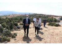 Pazarcık'ta 40 kaya mezar gün yüzüne çıkarılacak