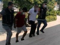 Söke'den Milas'a uyuşturucu sevkiyatını polis önledi