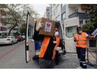 Büyükşehir pandemi sürecinde 50 bin gıda paketi dağıttı