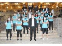 Sivas Belediyespor Hentbol Takımı moral depoladı