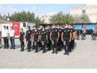 Eğitimlerini tamamlayan motorize ekipler törenle göreve başladı