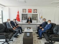 Milli Eğitim Müdürü Sarı'dan AK Parti İl Başkanlığı'na ziyaret