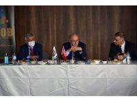 Rektör Ünal, yeni dönemdeki perspektifini Samsun'daki oda temsilcileriyle paylaştı