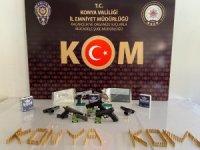 Konya'da örgüt kurmak, tefecilik ve yağmadan 12 kişi tutuklandı