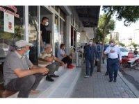 Soma'da korona denetimlerinde 736 bin TL ceza yazıldı
