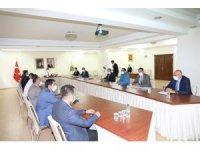 KÖYDES yatırımları değerlendirme toplantısı yapıldı