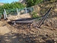 Tunceli Hozat'ta sel, alt ve üst yapıya zarar verdi