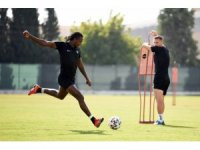 Denizlispor, Antalyaspor maçı hazırlıklarına sabah idmanı ile devam etti