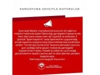 İstanbul'daki ünlü işletmedeki skandal görüntülere Beşiktaş Kaymakamlığından açıklama
