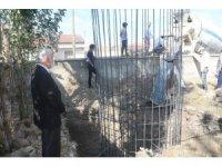 Ağılbaşı köyünde yapılacak olan caminin temeli atıldı
