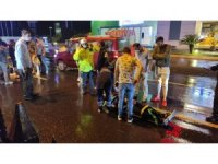 Sarıyer'de yağış nedeniyle kayganlaşan yolda zincirleme kaza: 6 yaralı
