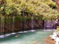 Doğa harikası Sineber Şelalesi ziyaretçilerini bekliyor