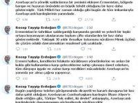 """Erdoğan: """"Türk Milleti tüm imkanlarıyla Azerbaycanlı kardeşlerinin yanındadır"""""""