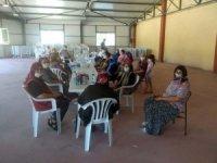 Köylü kadınlara kooperatifçilik eğitimi