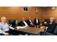 Başkan Gür Zeki Gül'ü ziyaret etti