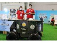 """Sultanbeyli Belediyesi """"TOAF"""" takımı Teknofest'te dikkat çekti"""