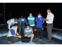 Termal kameralı drone ile gece kaçak av denetimi