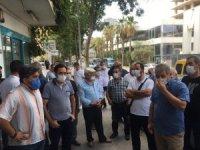 Fikirtepe'de Kentsel Dönüşüm mağdurları Mina Towers projesine tepki gösterdi