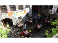 Diyarbakır'da 'Sokakta Satranç Var' turnuvası başladı