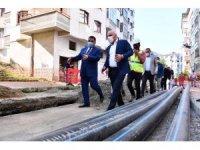 Trabzon'un içme suyu hattını yenileme çalışmaları devam ediyor