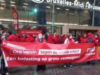 Brüksel haftaya grevle başladı