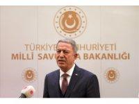 Milli Savunma Bakanı Akar'dan açıklama