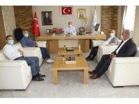 Kanaat önderleri Kaymakam Türkmen ile bir araya geldi