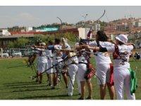 Sonbahar Okları Okçuluk Yarışması, Gölbaşı'nda düzenlendi