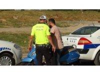 Bursa'da motosiklet terörü