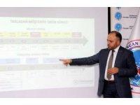 Erzincan'da Türkşeker'in sözleşmeli üretim modelini anlatan tanıtım toplantısı düzenledi