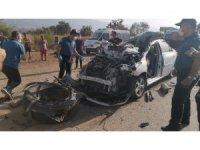 Askeri personel ve eşi kazada öldü, çocukları yaralı kurtuldu