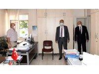 Vali Çuhadar, kültür ve turizm müdürlüğüne ziyaret