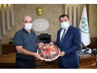 Gürkan, Bölge Müdürü Dündar'ı ziyaret etti