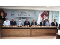 Turgay Erdem'den İYİ Parti'ye 'hayırlı olsun' ziyareti